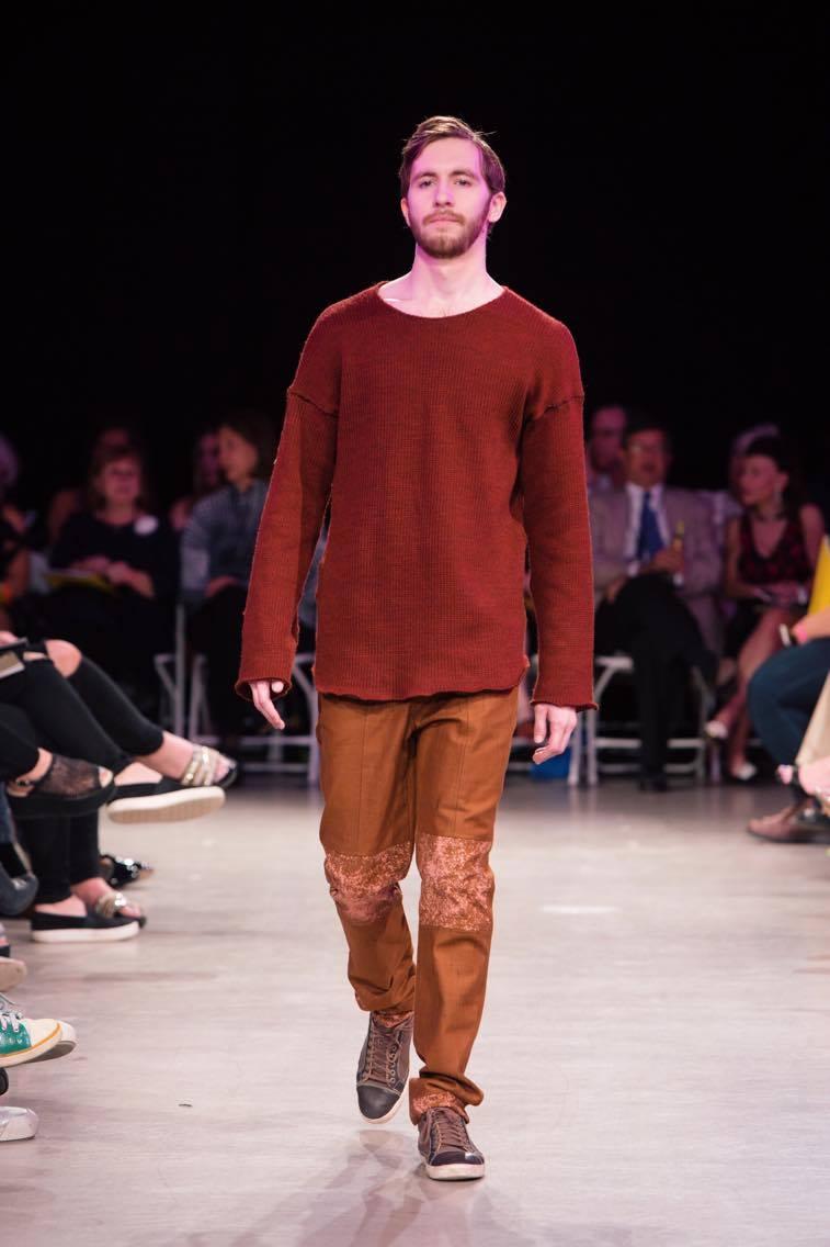 sage suede illuminate fashion show massart
